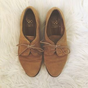 VINCE CAMUTO Shoes    Merley Lace-Up Oxford Shoes